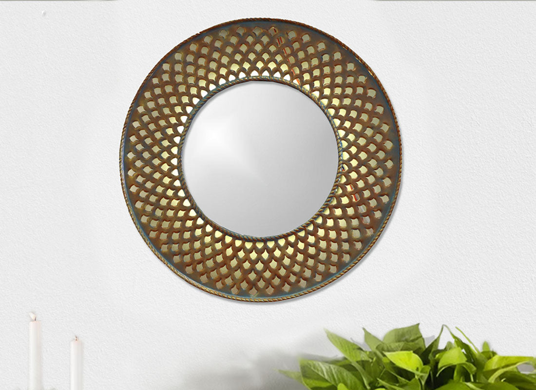 Arya Mirror Wall Hanging