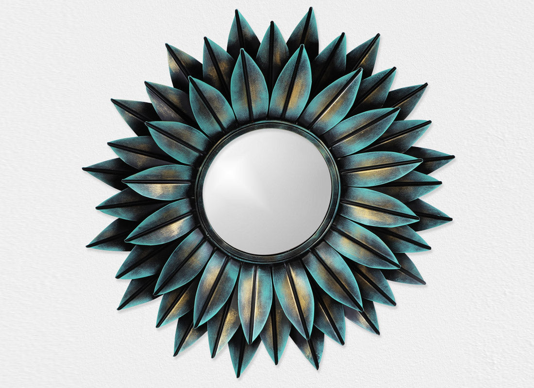 Blue Candy Mirror Wall Hanging