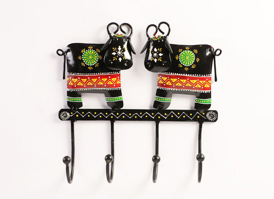 Decorative Cow Hook Hanger