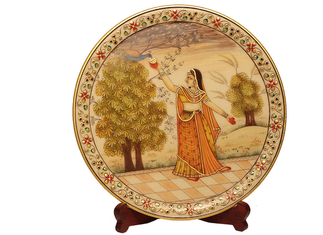 Marble Plate Decor