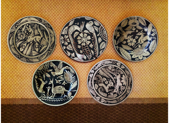 Mexican Design Antique Wall Decor Plates