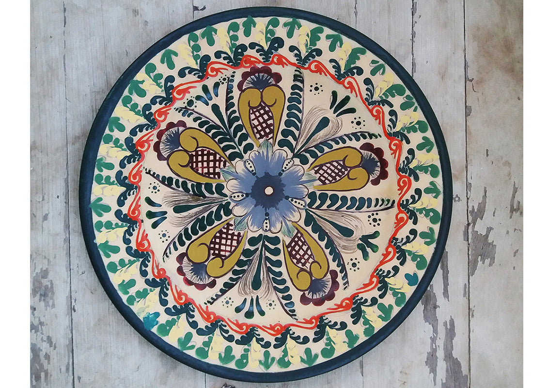 Mexican design wall plate