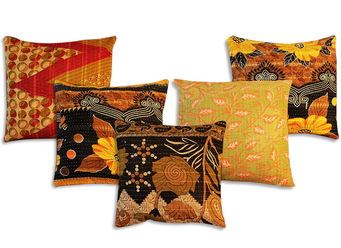 Multi design abstract cushion cover