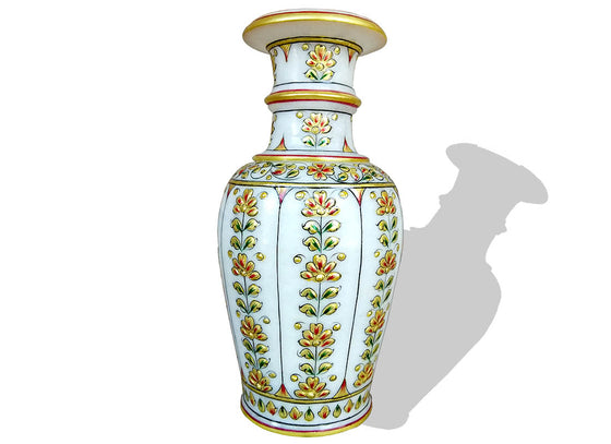 Gold Design Makrana Marble Table Vase