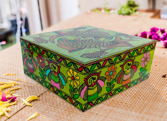 Decorative Designer Wooden Jewellery Box