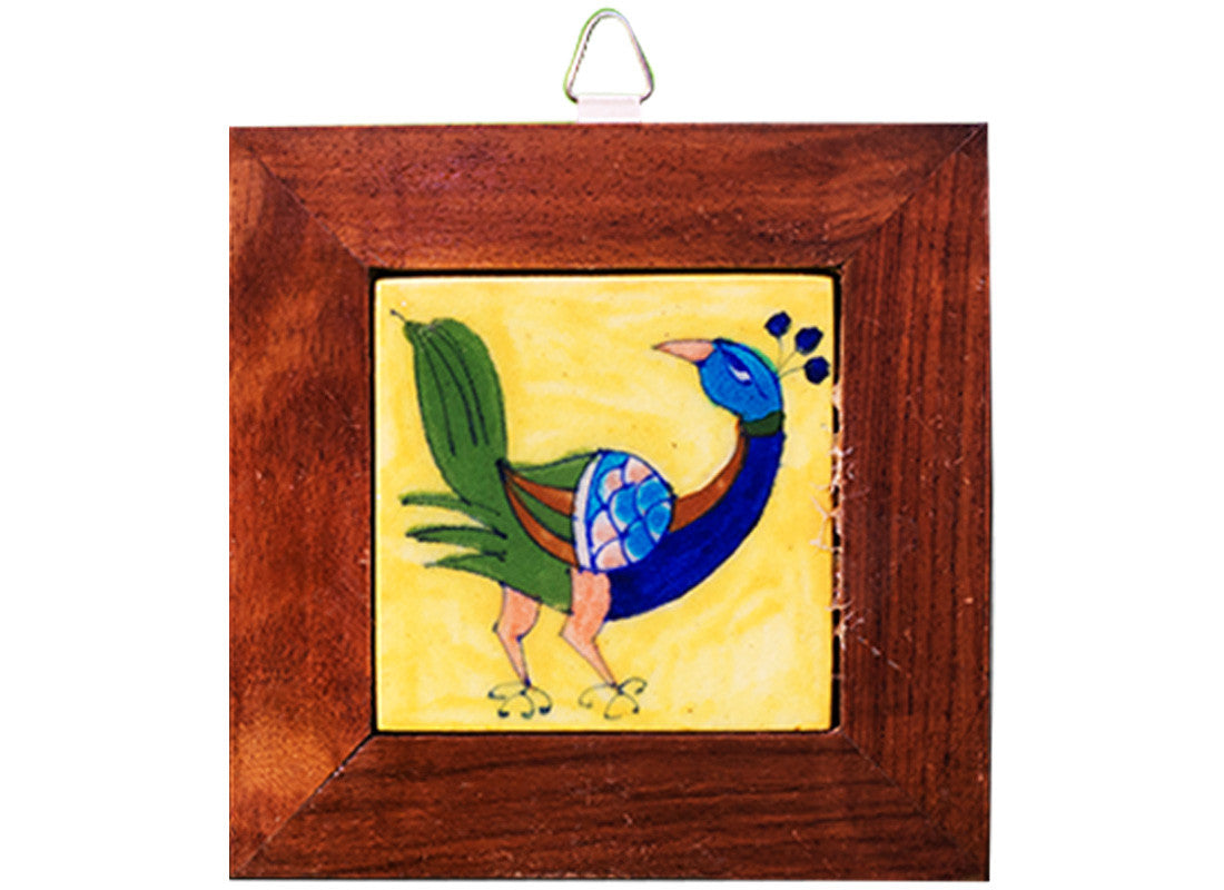 Buy Ethnic Peacock Design Wall Hanging at Lowest Rates On ...
