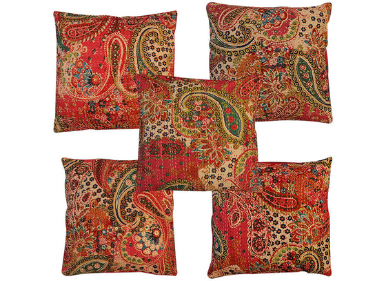 Rajasthan using kantha embroidery techniques
