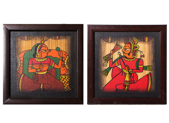 Rajasthani Phad Wall Paintings