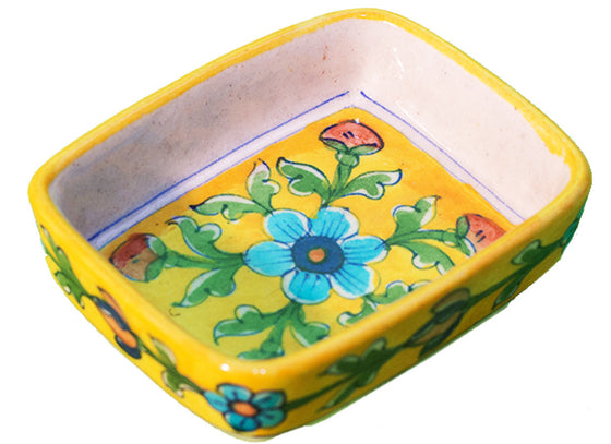 Rectangle snacks serving dish