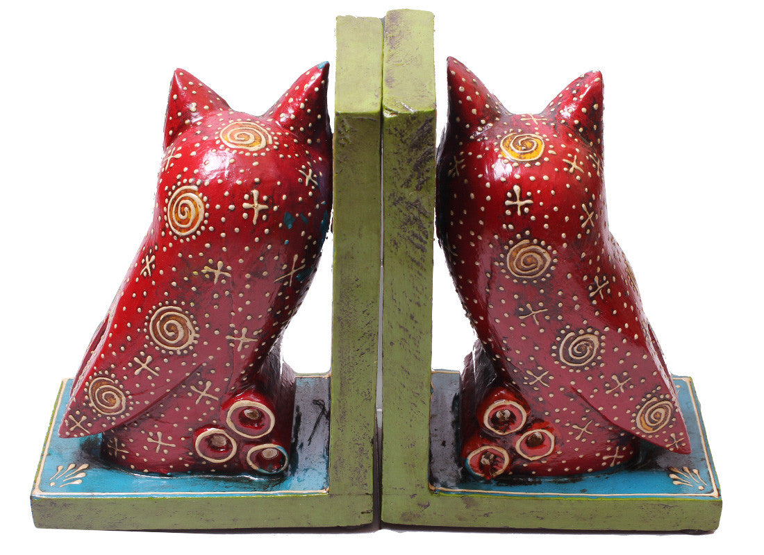 Red Owl Design Bookend
