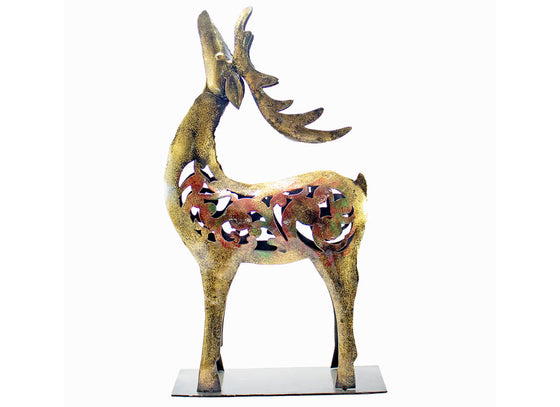 Abstract Art Reindeer Showpiece Decor