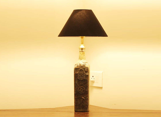 Handmade Textured Table Lamp Décor