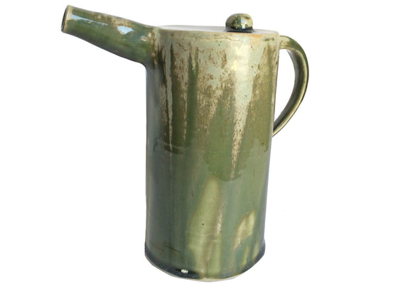Handcrafted Abstract Ceramic Kettle Showpiece