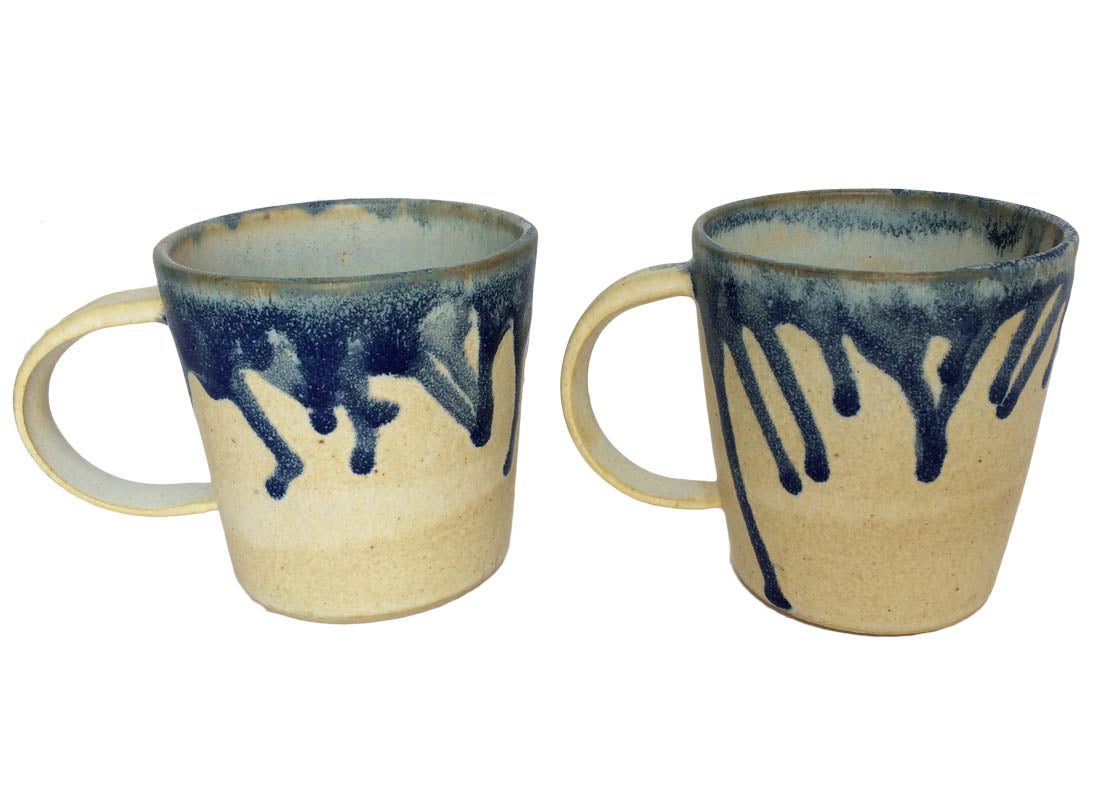 Art Ceramic Coffee Mug Set