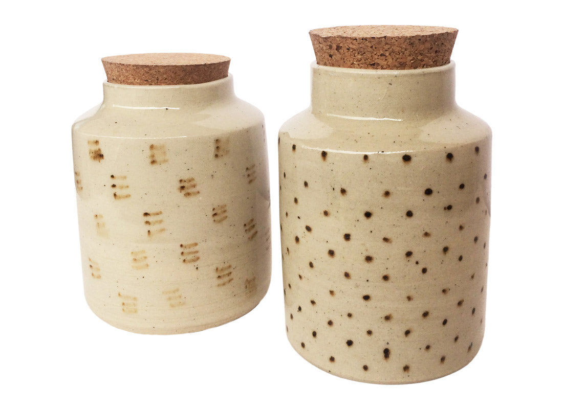 Decorative Ceramic Cookie Jar