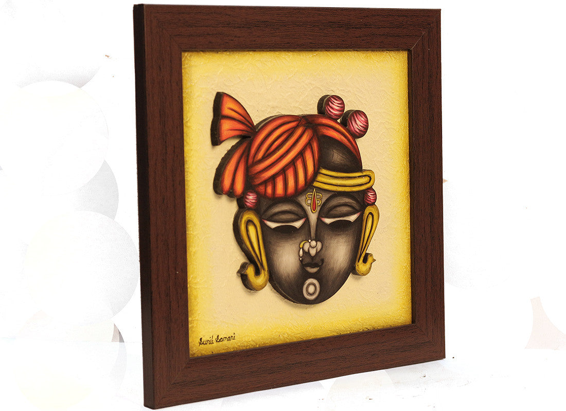 Shreenathji handcrafted phad painting