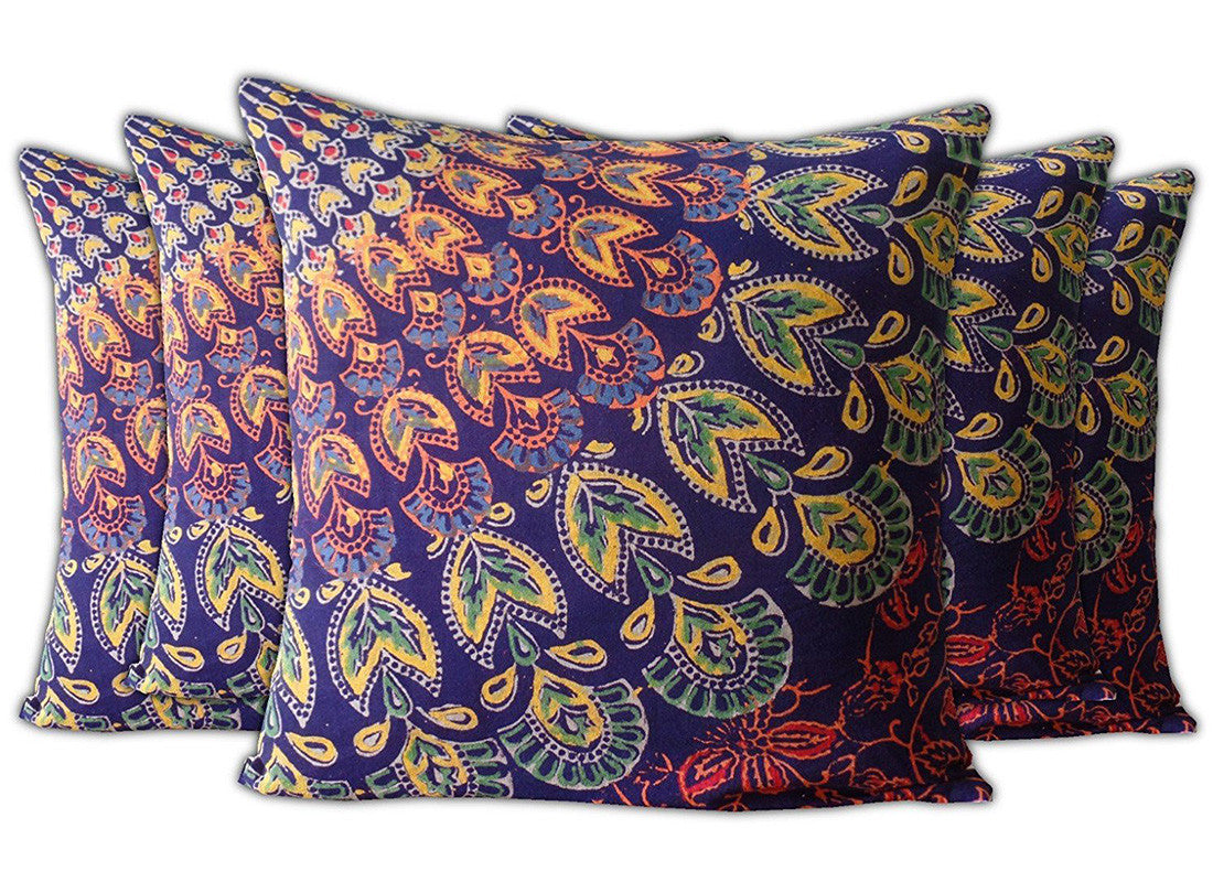 Traditional Printed Cushion Cover