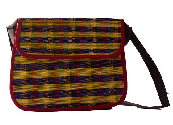 Traditional style sling bag