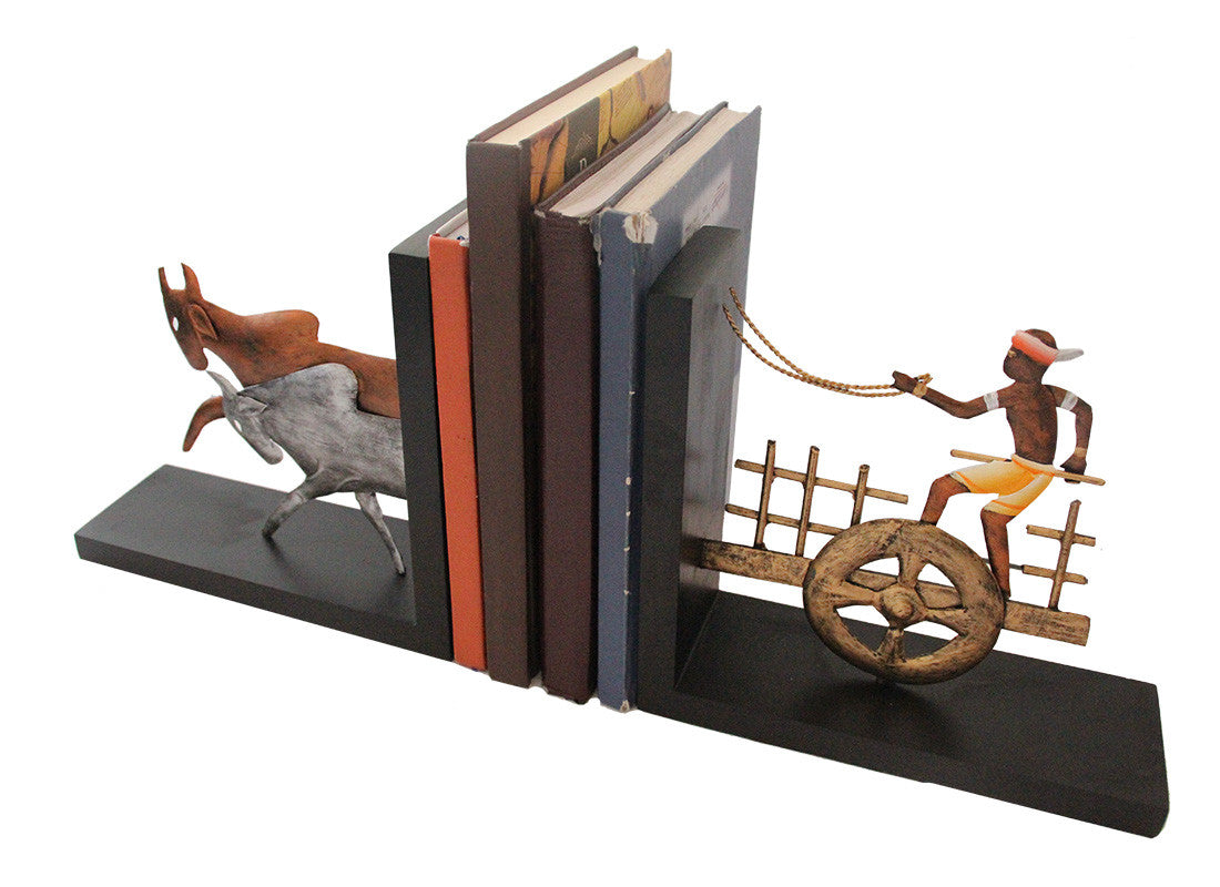 Trendy Wooden Bookend