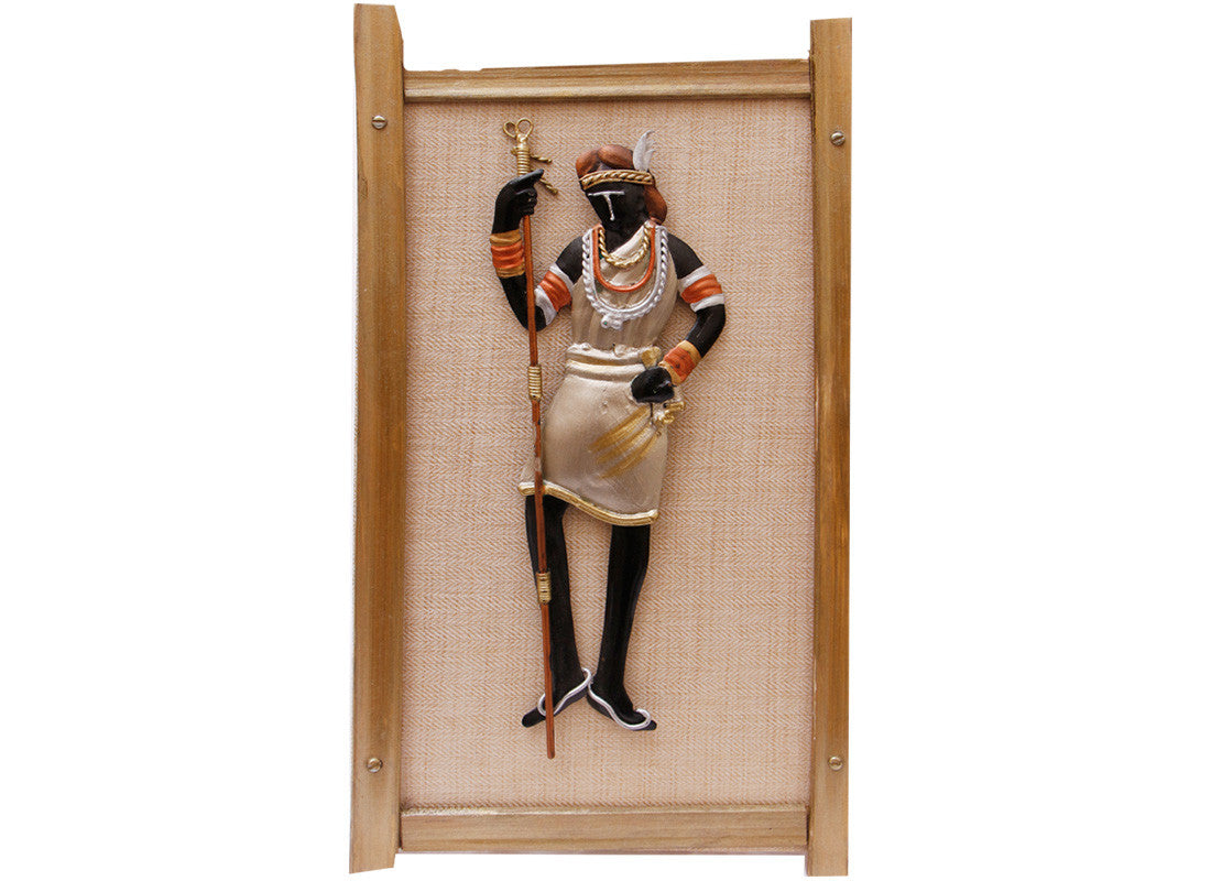 Tribal Lady Wall Frame