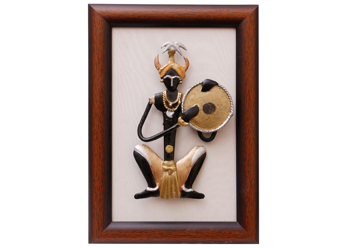 Tribal Men Photo Frame