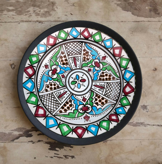 Arabic Art Ceramic Wall Hanging Plate