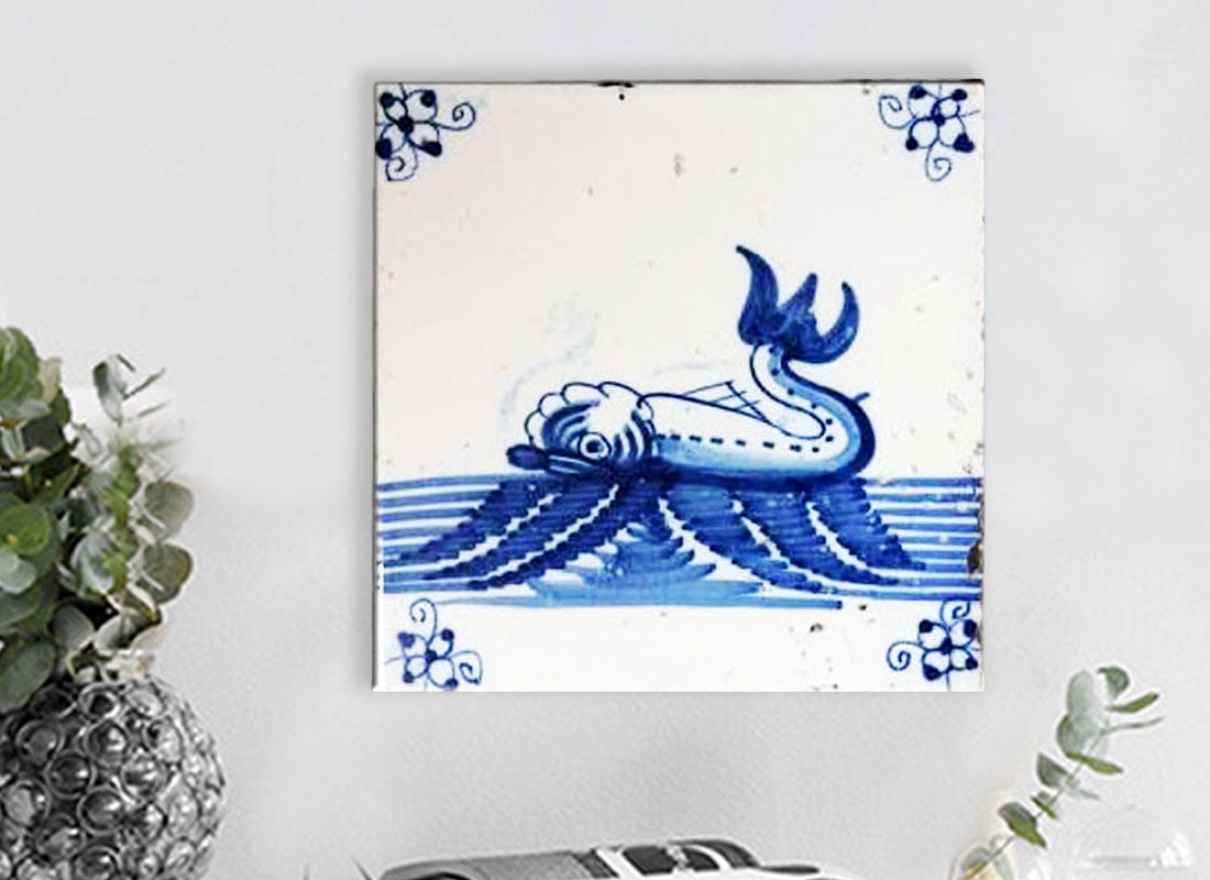 Buy Blue n White Dutch Design Ceramic Tile at Lowest Rates On ...