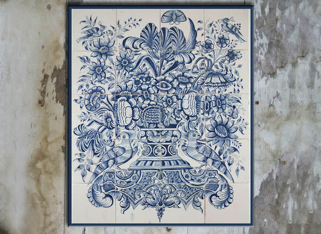 Buy Intricate Dutch Design Wall Tile Set at Lowest Rates On ...