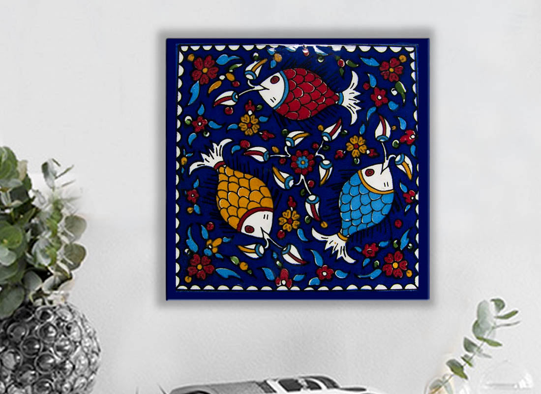 Buy Colourful Fish Design Ceramic Tile at Lowest Rates On ...