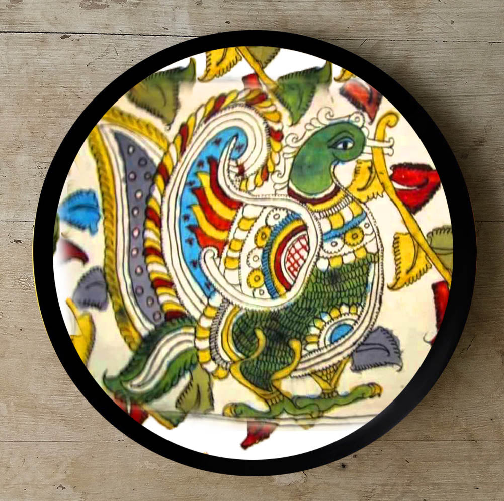 Buy Decorative Kalamkari Ceramic Wall Plate at Lowest Rates On ...