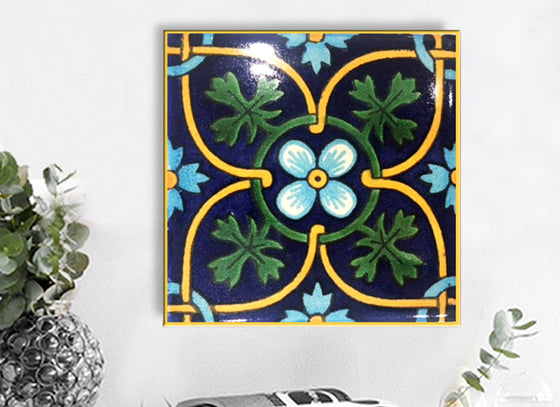 Square Shape Ceramic Wall Hanging Tile