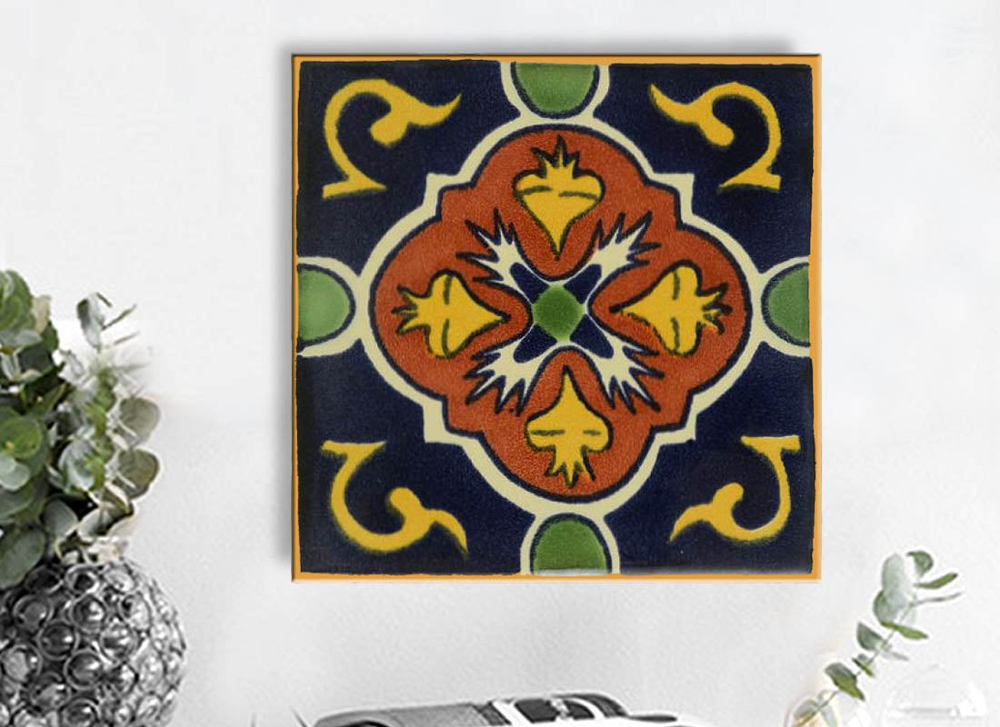 Buy Wall Hanging Ceramic Tile at Lowest Rates On Craftedindia.com