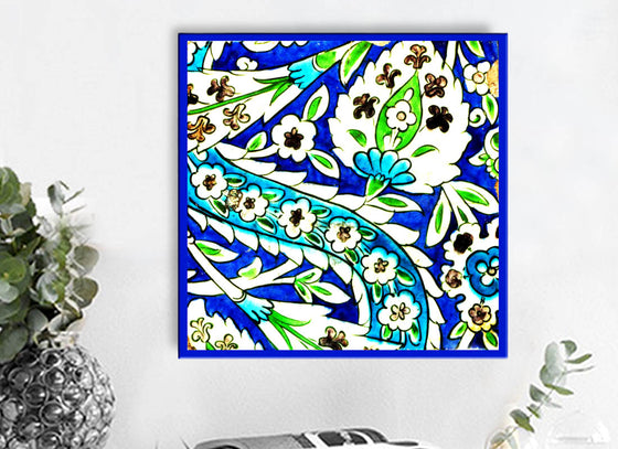 Colourful Abstract Design Wall Tile