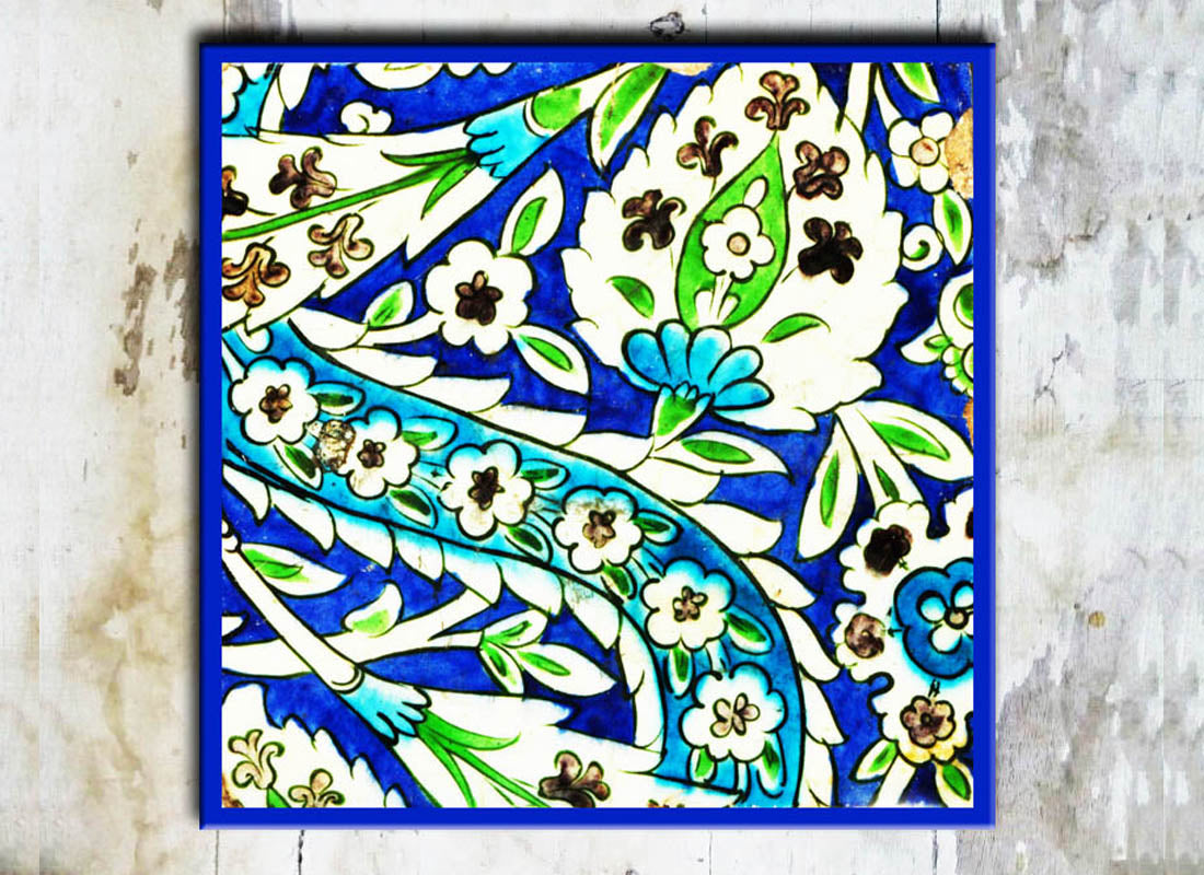 Buy Colourful Abstract Design Wall Tile at Lowest Rates On ...