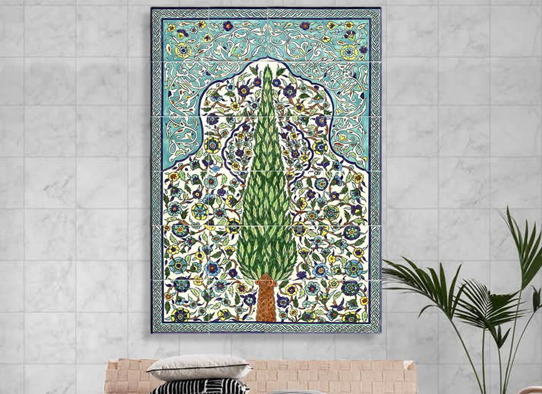 Buy Turkish Mural Ceramic Wall Tile Set at Lowest Rates On ...