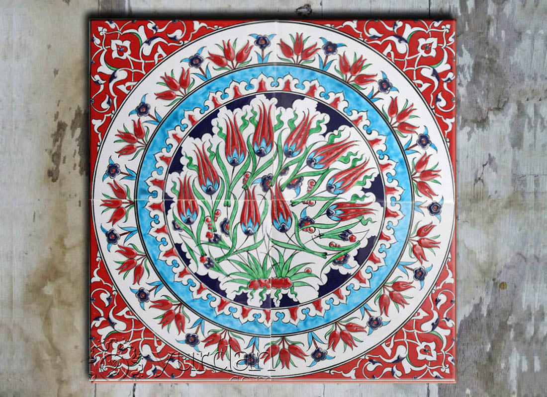 Buy Mural Turkish Ceramic Wall Tile Set at Lowest Rates On ...
