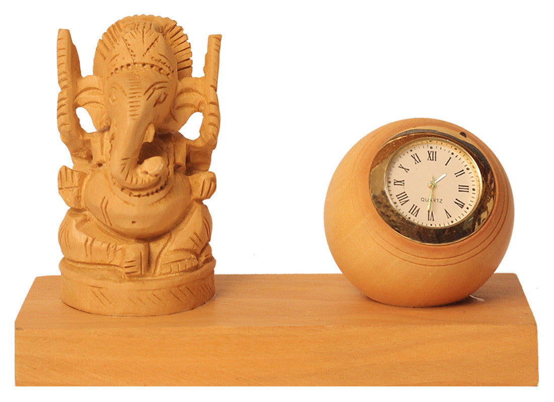 Ganpati Study Table Clock