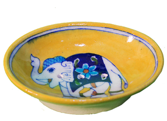 Yellow Soap Dish