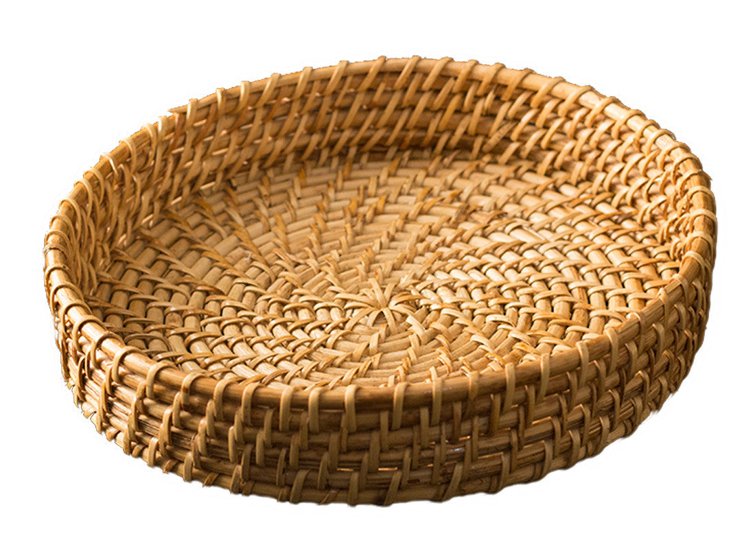 Buy Round Bamboo Basket Set At Lowest Rates On