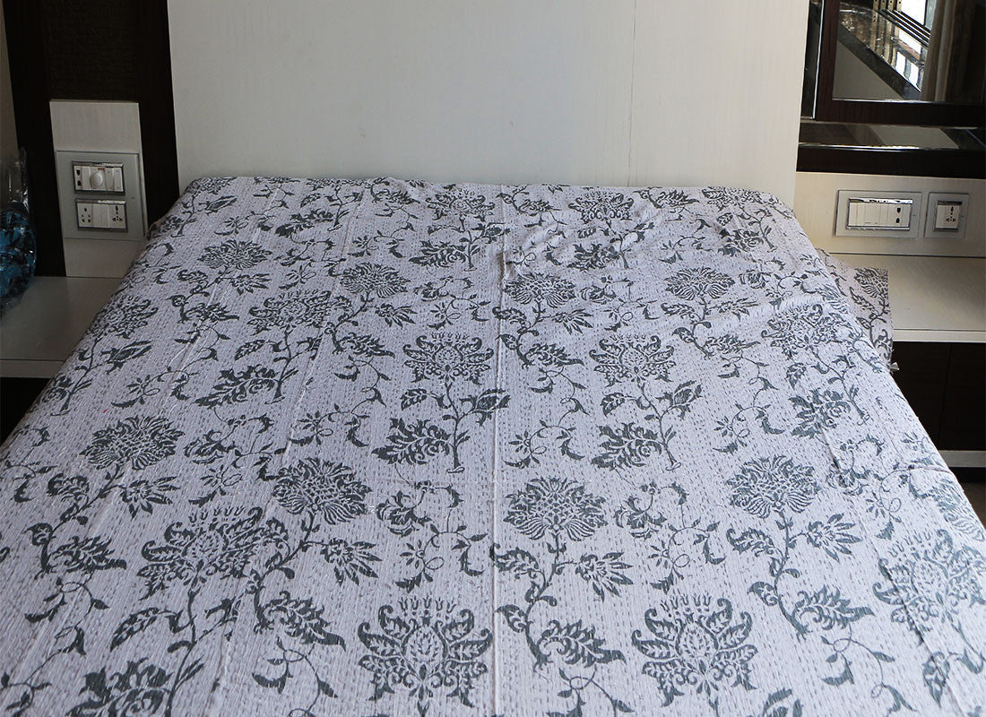 handicraft bed sheet