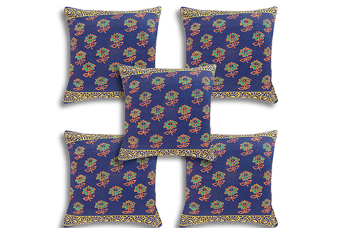 cushion cover set of 5