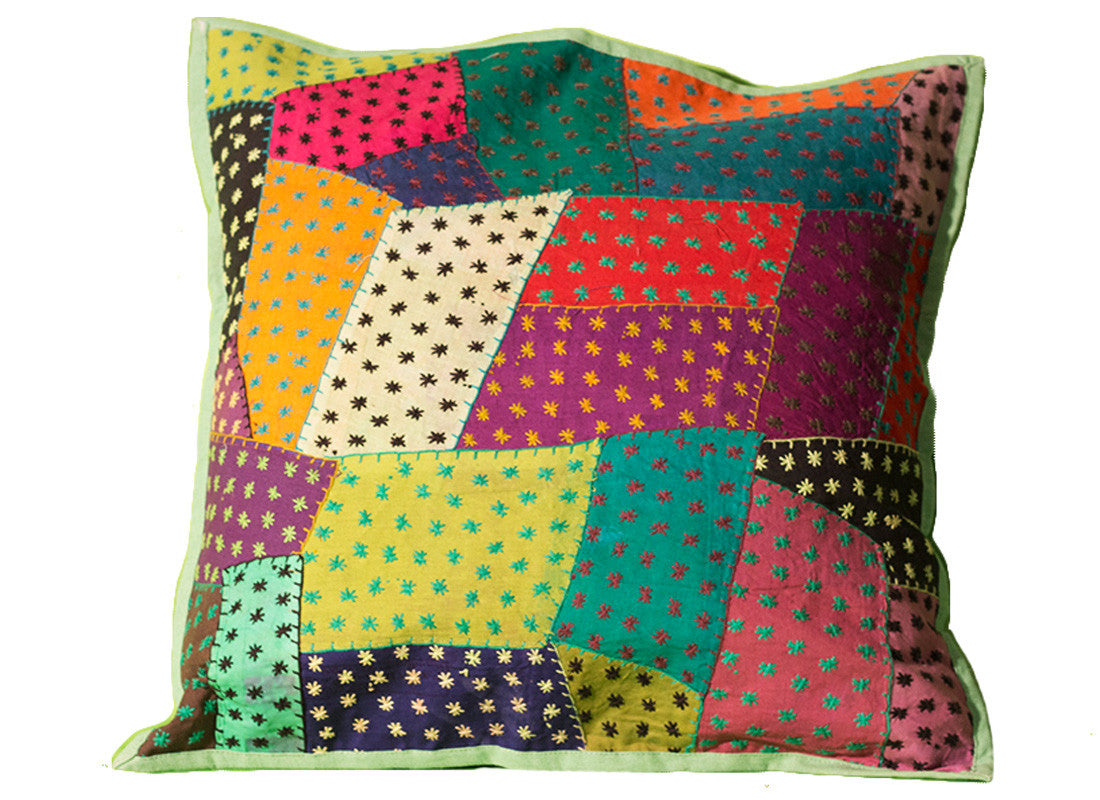 dotted cushion cover