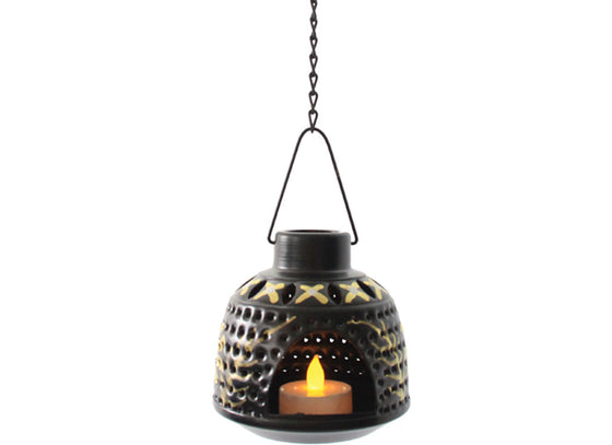 Hanging Lantern Lamp Black