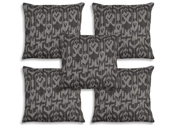 gray cushion covers