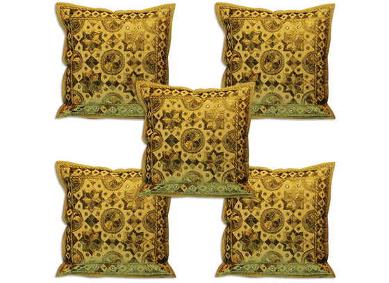 green cushion cover design set