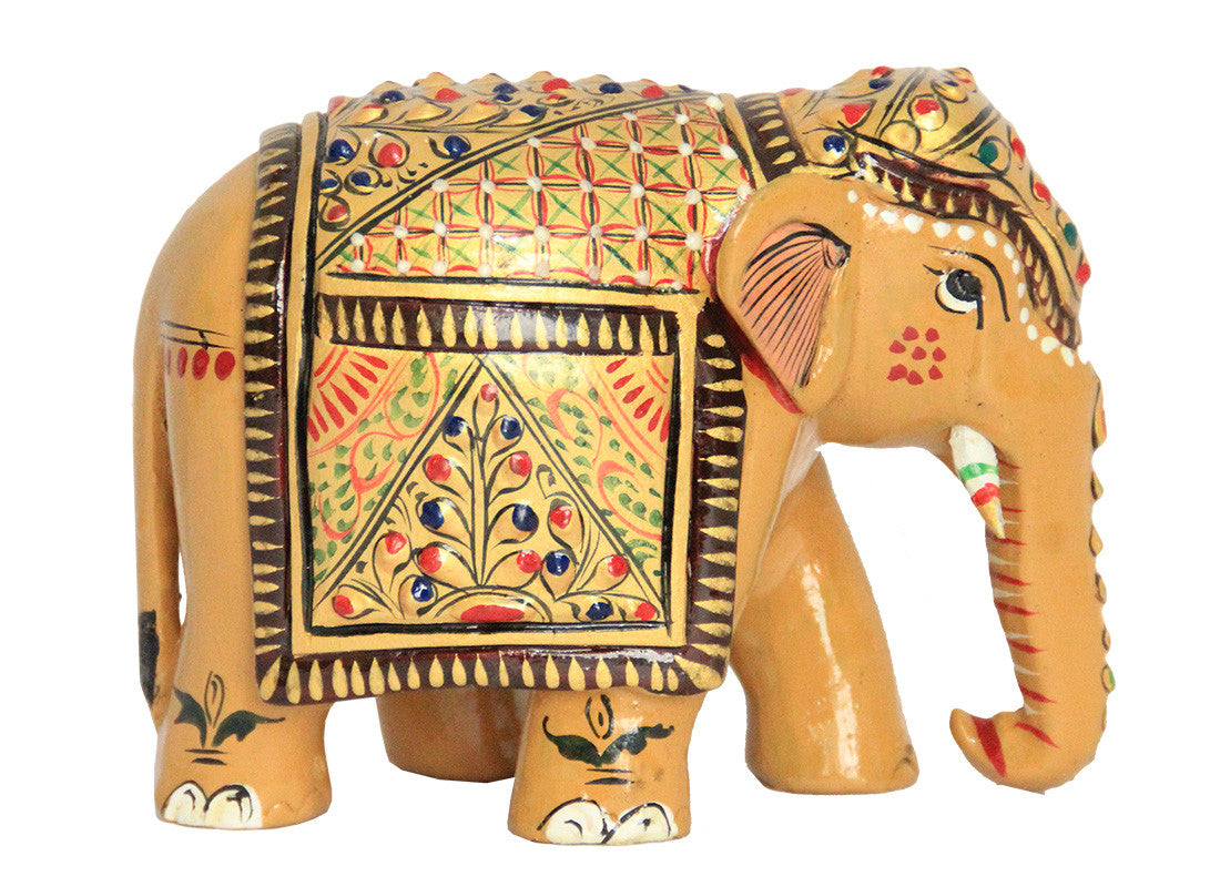 Hand painted Elephant Figurine