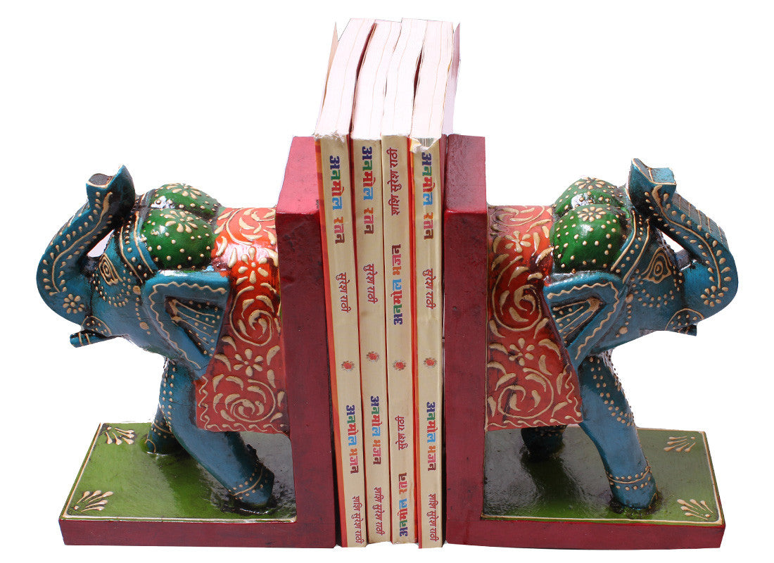 handcrafted table bookend