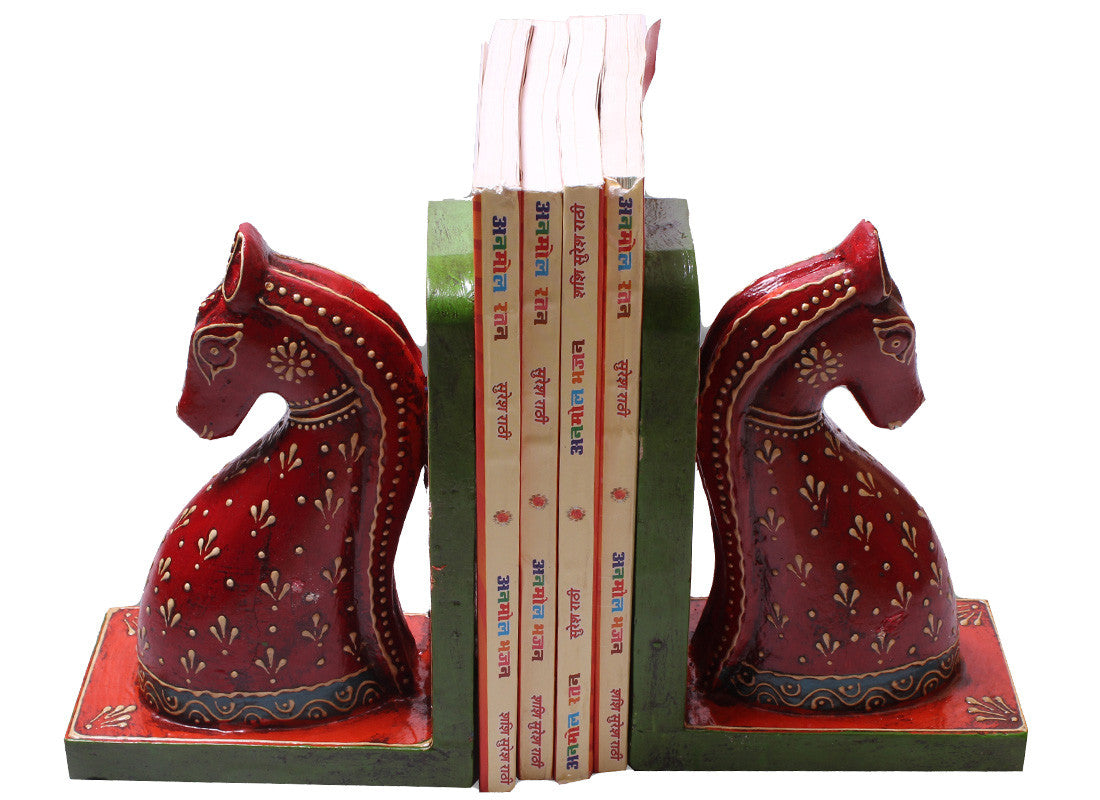 Buy exquisite horse home decor bookend at lowest rates on for Exquisite home decor
