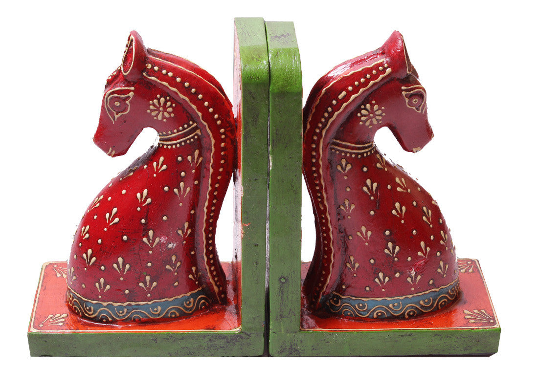 hand painted bookend
