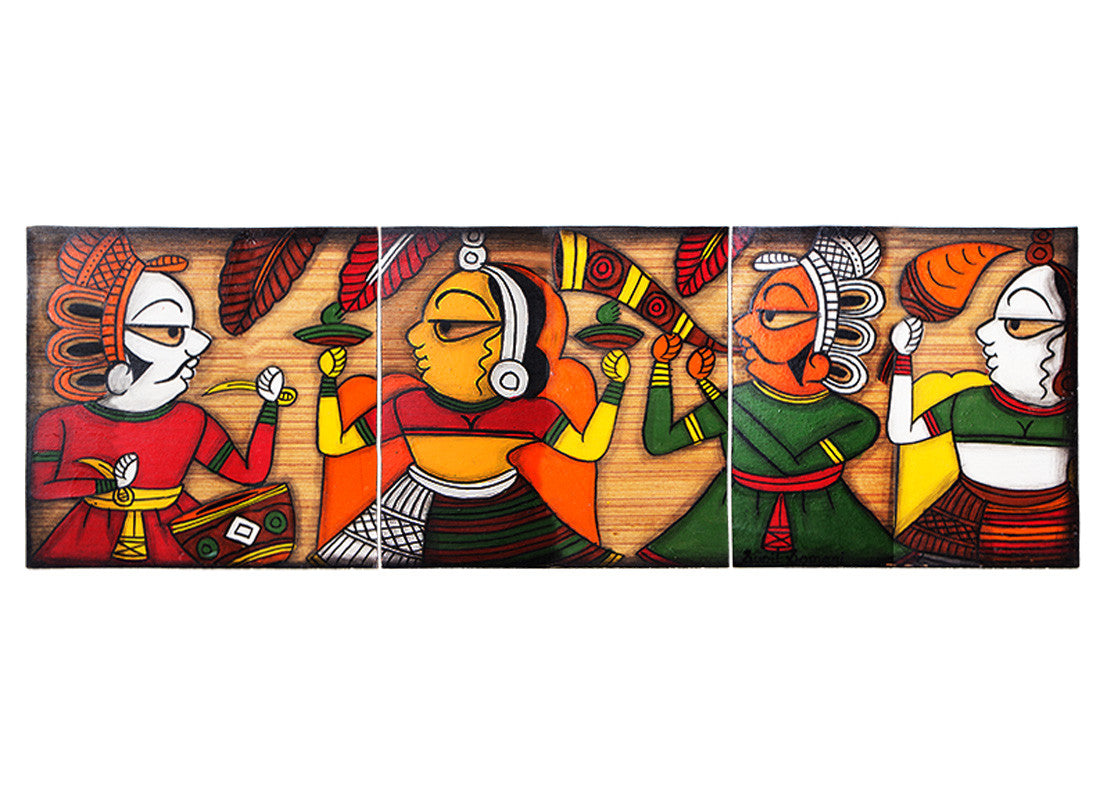 canvas phad musician painting frames